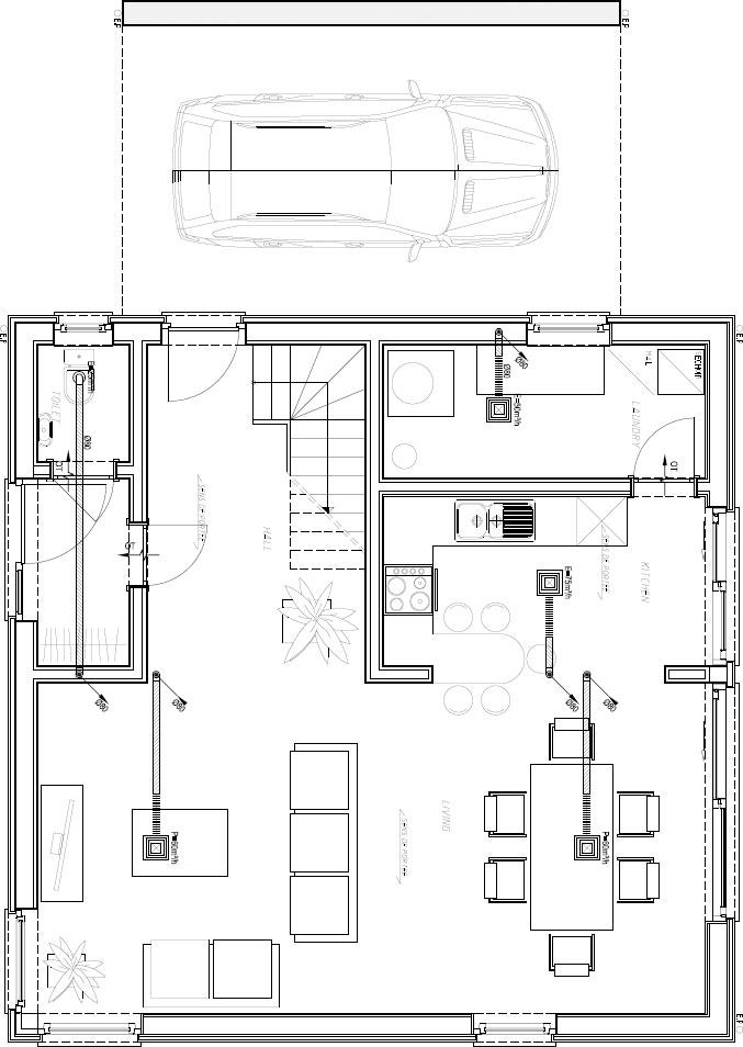 пасивна къща - вътрешно разпределение