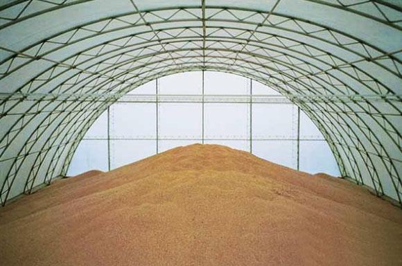 хранения зерна и соломы