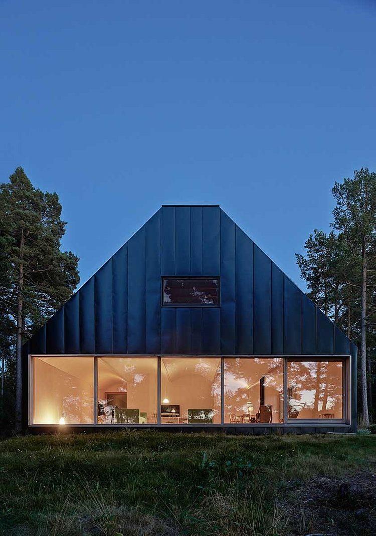 Къща Husarö от Tham & Videgård Arkitekter