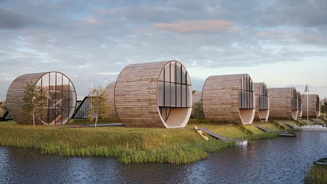 Цилиндрични къщи
