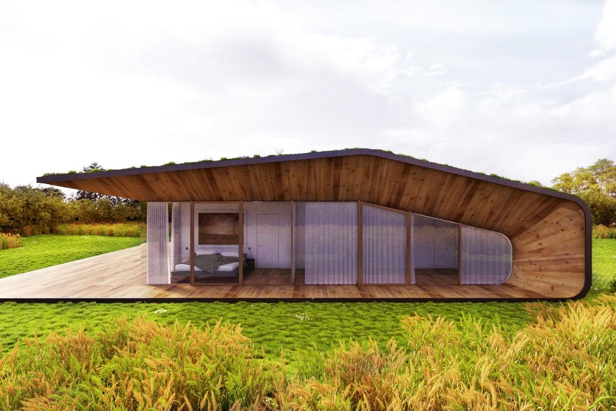 камуфлажна къща