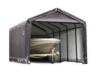 Folding garages