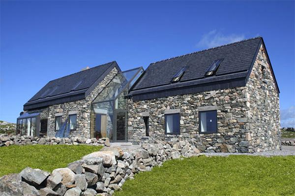 Каменни къщички