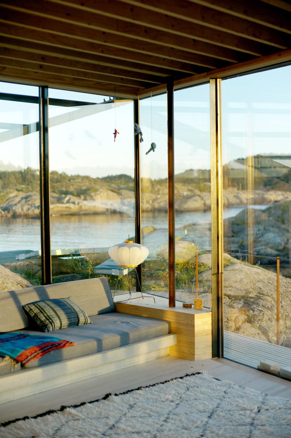 Cabin-Lille-Arøya-Lund-Hagem-Norway-Living-Room-Humble-Homes