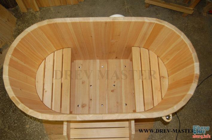 Дървено джакузи 13