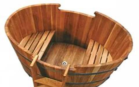 Дървено джакузи 15
