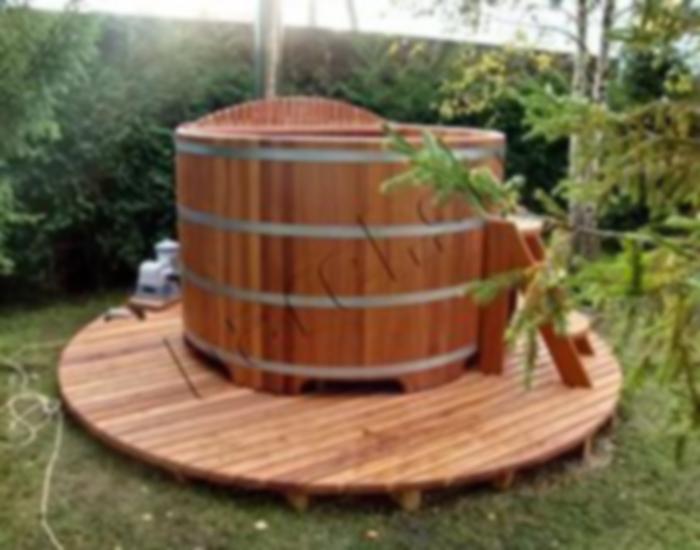 Дървено джакузи 17