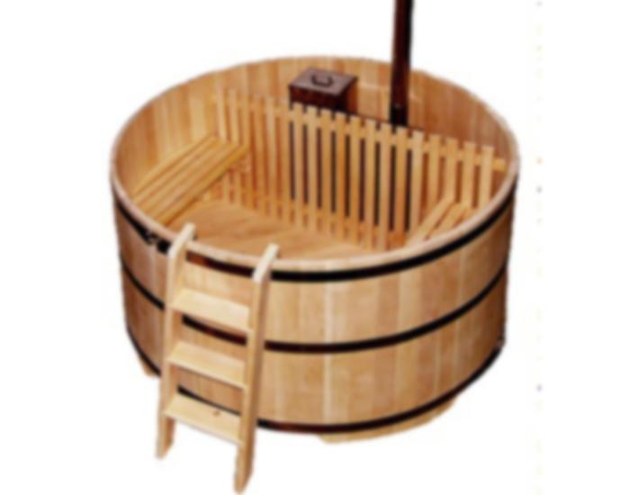 Дървено джакузи 19