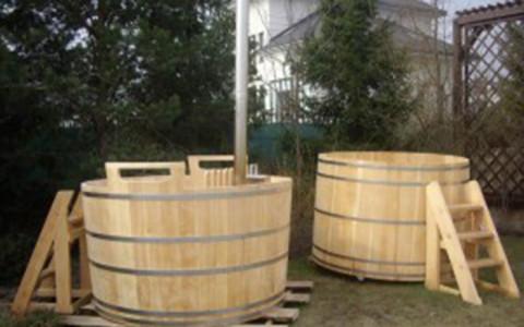 Дървено джакузи 20