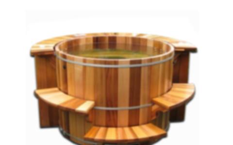 Дървено джакузи 24