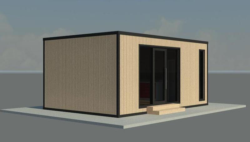Преносима къща с площ 30.80 кв.м. - подробности и цена